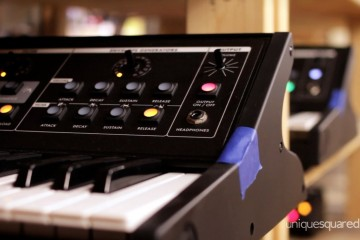 Visita a Moog Music, con los sintes Slim Phatty & Little Phatty y Moog Guitar