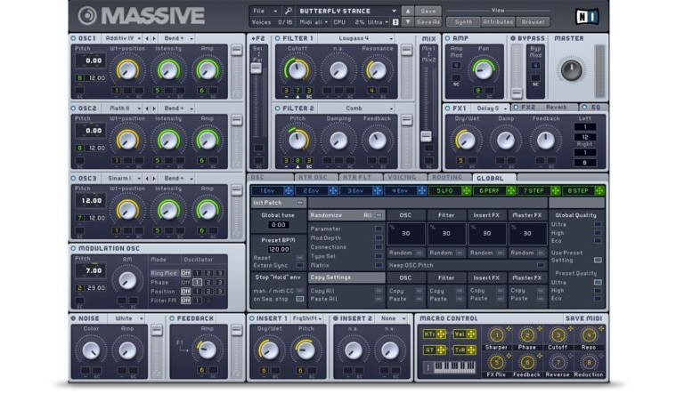 Native Instruments Massive: introducción a la síntesis