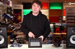 Novation Circuit desde microFusa Madrid, unboxing del sinte, groovebox y caja de ritmos