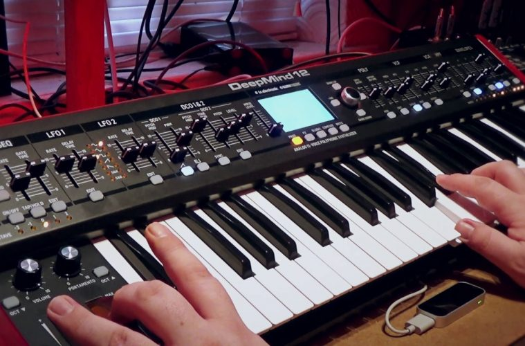 Behringer DeepMind 12, patches personalizados de GEOSynths